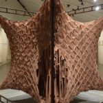 """""""Skin"""", an inhabitable sculpture, constructed using 1800 pairs of tights"""