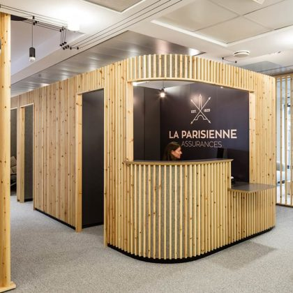 A New Look for La Parisienne Assurances by Studio Razavi Architecture