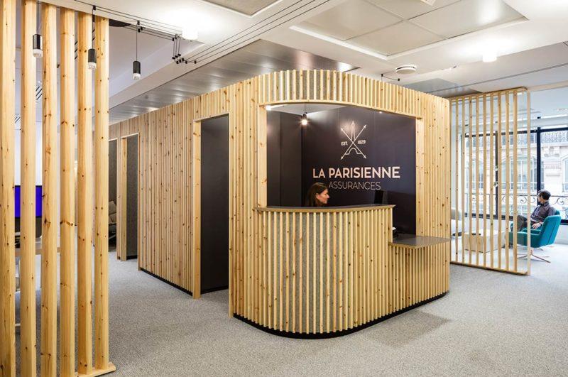 A New Look for La Parisienne Assurances by Studio Razavi Architecture