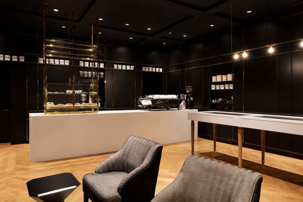 The Standard Café / Jean de Lessard, Designers Créatifs