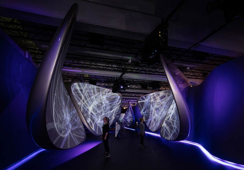 'Unconfined' by Samsung and Zaha Hadid Architects