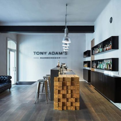 Tony Adam's Barbershop by OOOOX