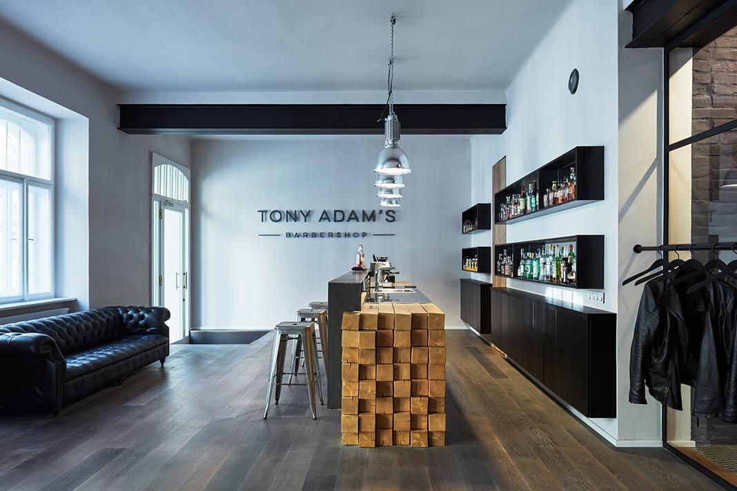 Tony Adam's Barbershop by OOOOX