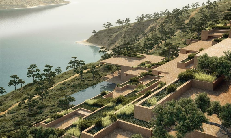 Stone Terrace Resort Hotel / ENOTA