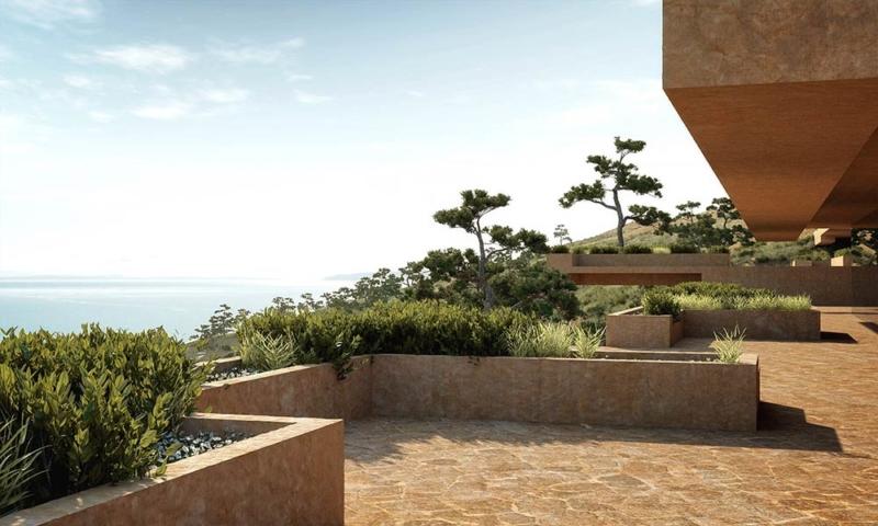 Stone Terrace Resort Hotel / ENOTA