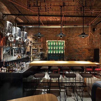 Copper Head Bar by YOD design lab
