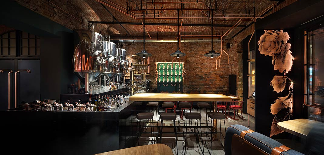 Copper Head Bar by YOD design lab