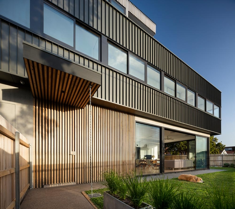 St Kilda East Townhouses by Jost Architects