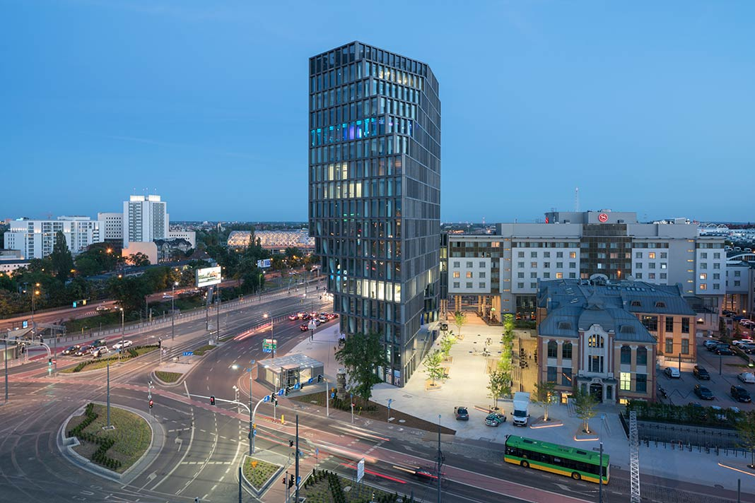 MVRDV completes Bałtyk, a 25,000m2 mixed-used development in Poznań