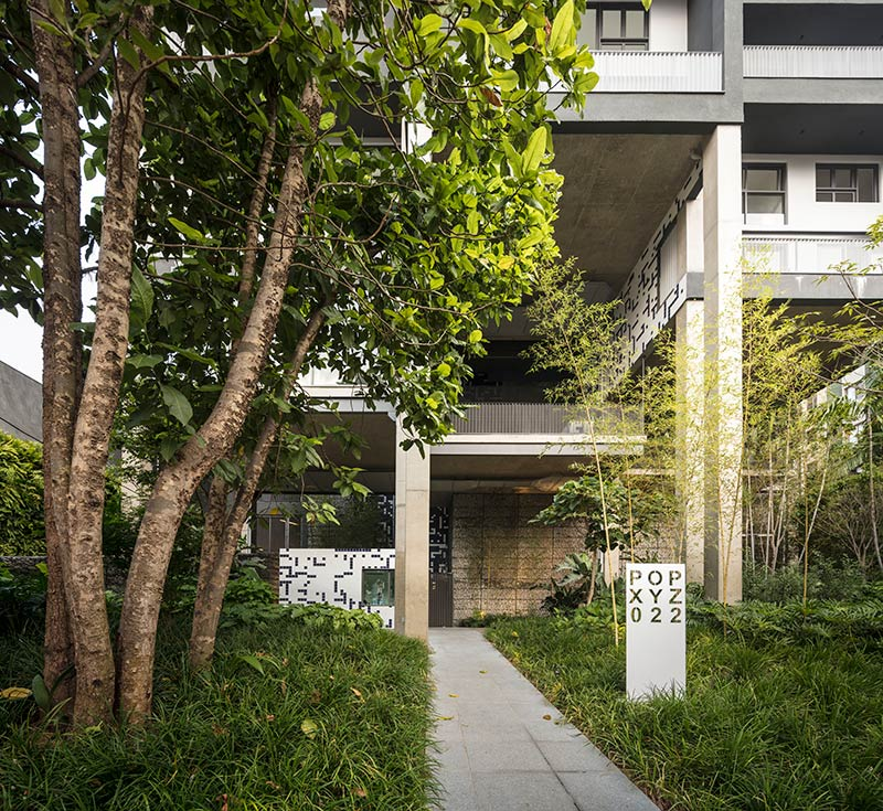 Arapiraca a new residential building in São Paulo by Triptyque Architecture