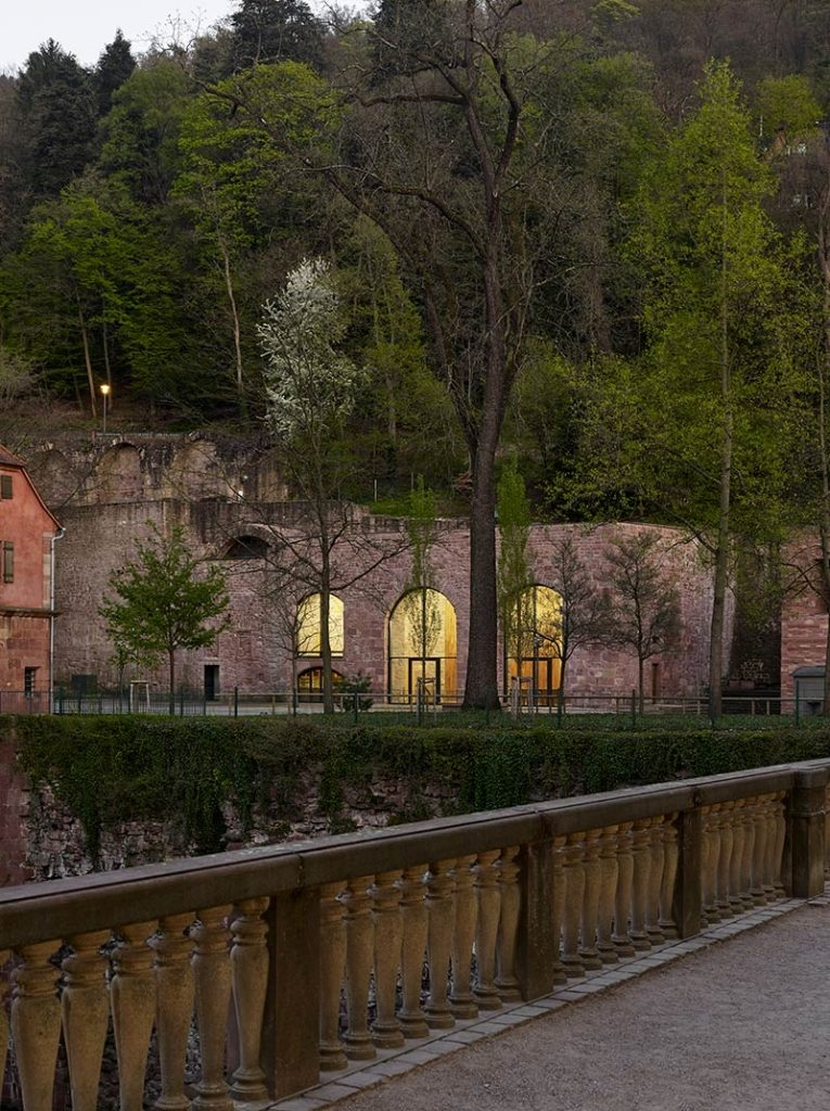 Max Dudler has transformed Heidelberg Castle's historical Sattelkammer into a visitors' restaurant