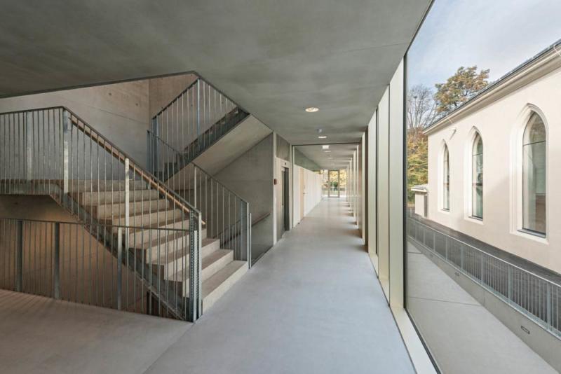 Extension of the Lycée Français de Vienne and Renovation of the Studio Molière by Dietmar Feichtinger Architectes