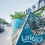 La Vague - A unique refreshing rest stop on St-Denis Street in Montreal