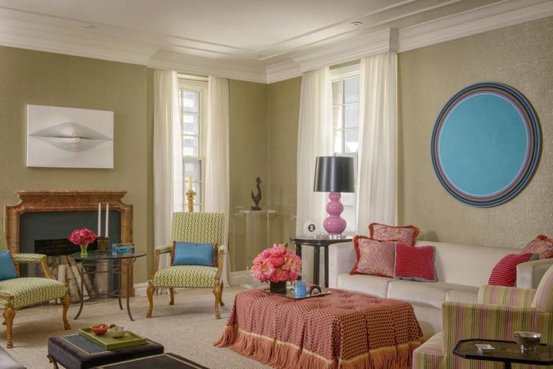 Manhattan Pre-War Apartment Renovation With Colorful Latin American Flair