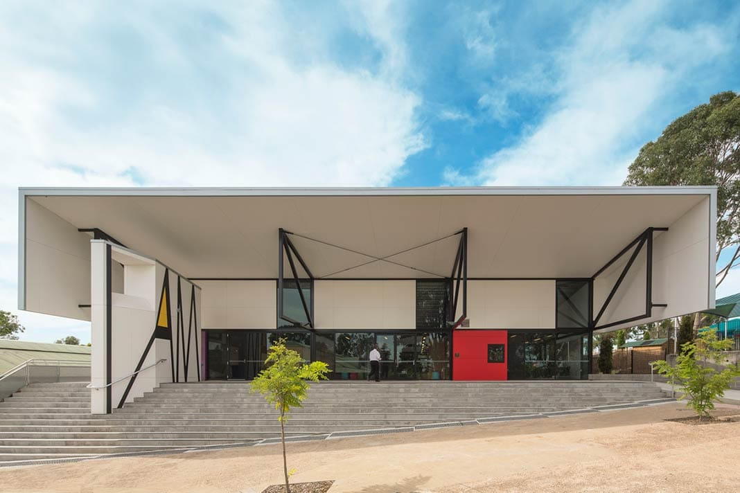 Mamre Anglican School by day bukh architects
