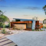 Overlooking the Moorooduc plains sits an impressive new home designed by Little Brick Studio