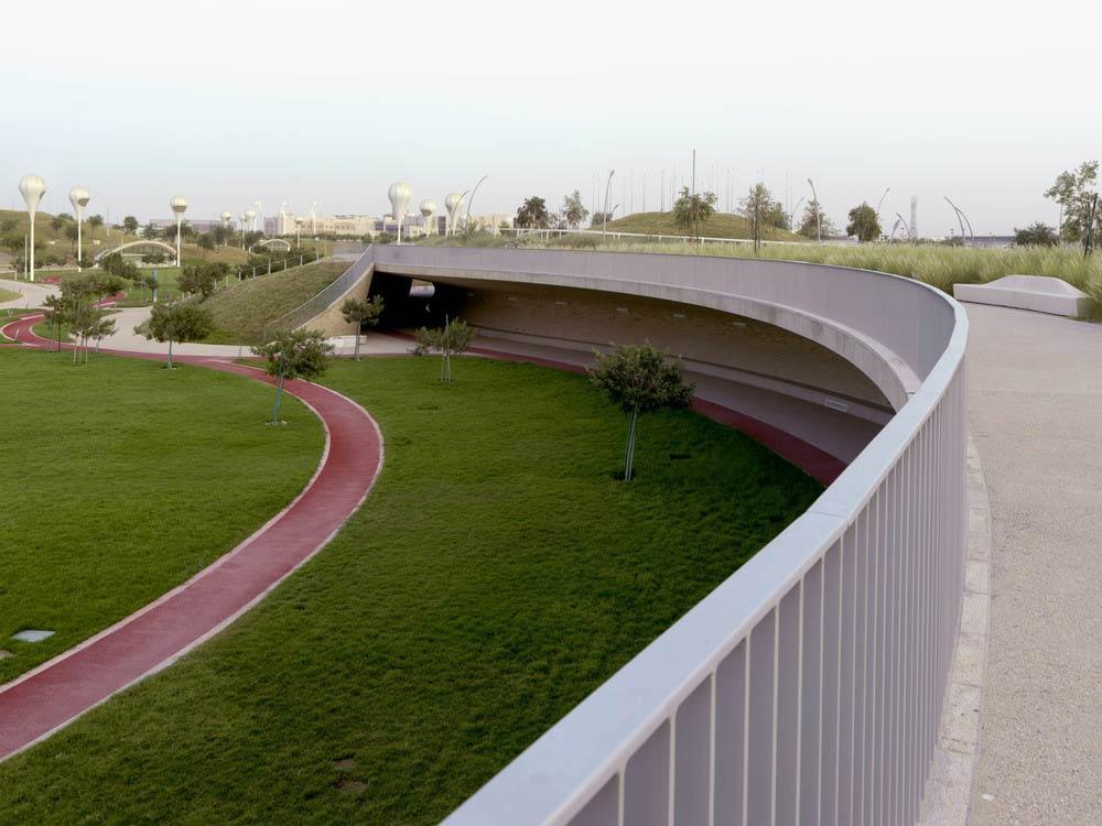 Oxygen Park, Education City, Doha by AECOM