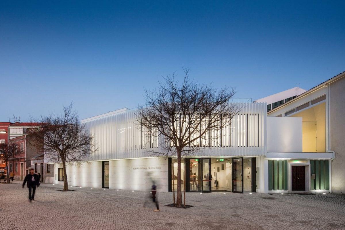 Pastoral Center of Moscavide by Plano Humano Arquitectos