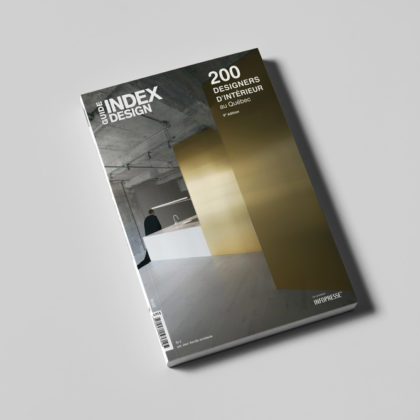 Index-Design Launches 9th Edition of the Guide – 200 Interior Designers from Quebec