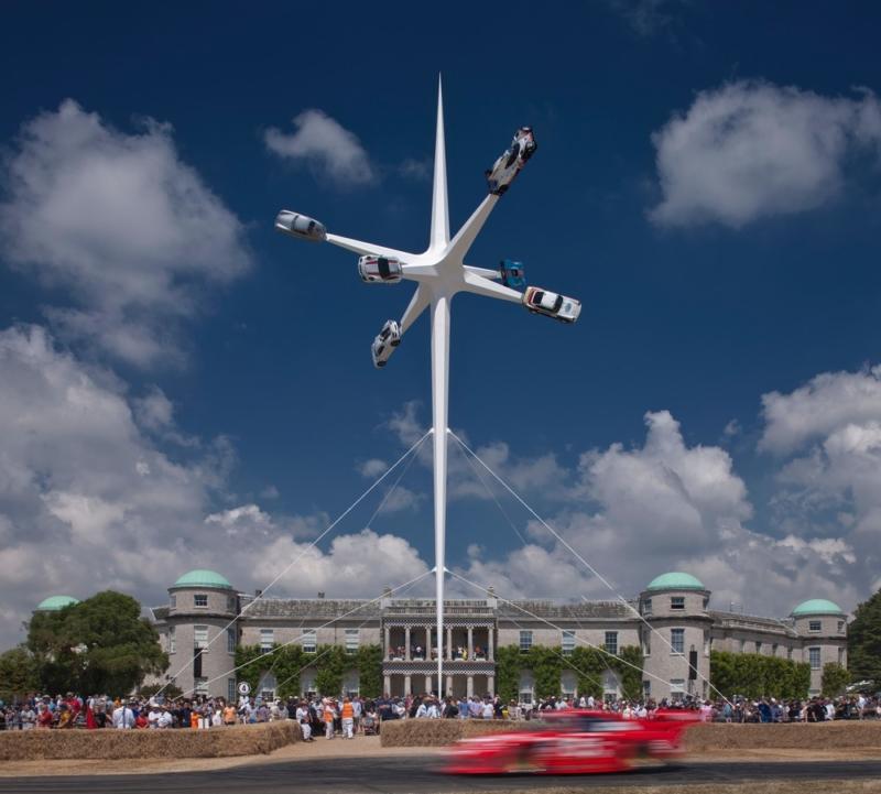 Porsche Sculpture: Goodwood Festival of Speed, 2018
