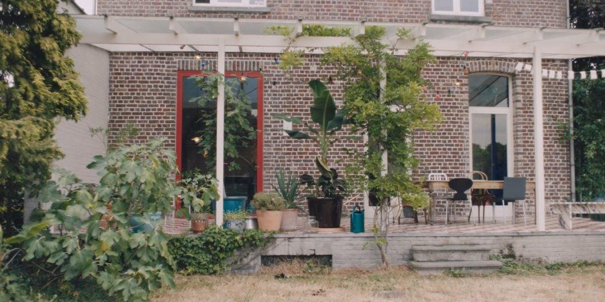 Inside the converted orangery that Muller Van Severen call home