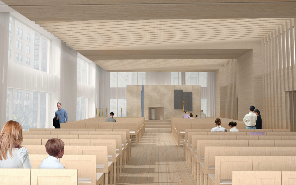For New York's Growing Synagogue, MBB Creates Urban Community, Expands Campus