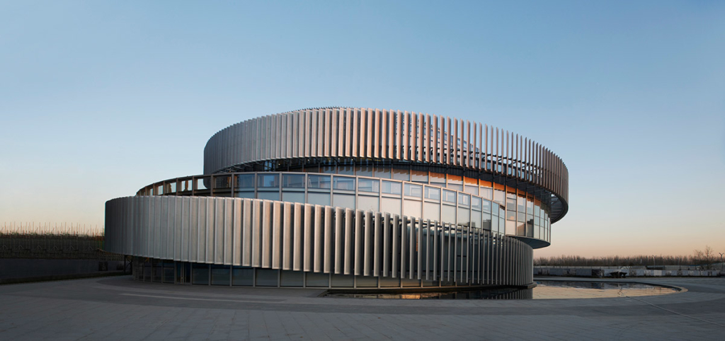Exhibition Center of Zhengzhou Linkong Biopharmaceutical Park by WSP ARCHITECTS