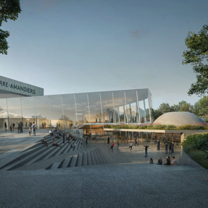 Snøhetta Wins Competition for the Renovation of the Théâtre Nanterre-Amandiers