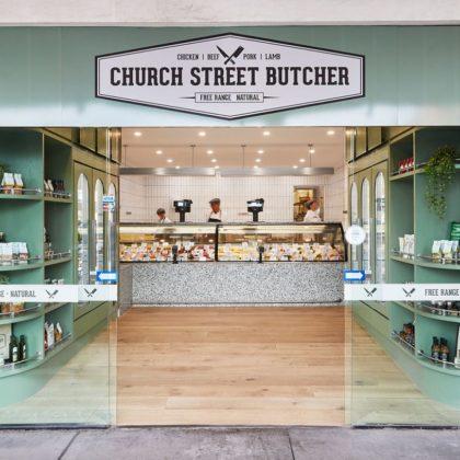 Church Street Butcher by Ewert Leaf