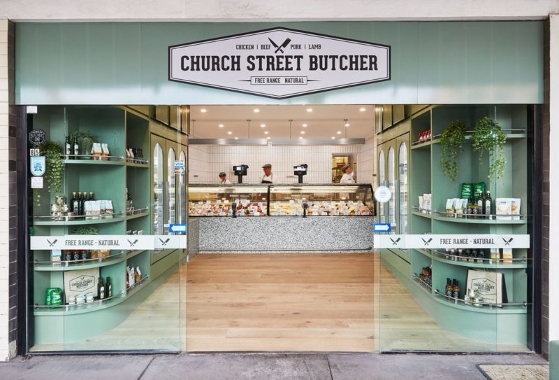 Church Street Butcher by Ewert Leaf