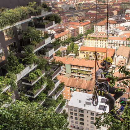 Forest, Tower, City: Rethinking the Green Machine Aesthetic