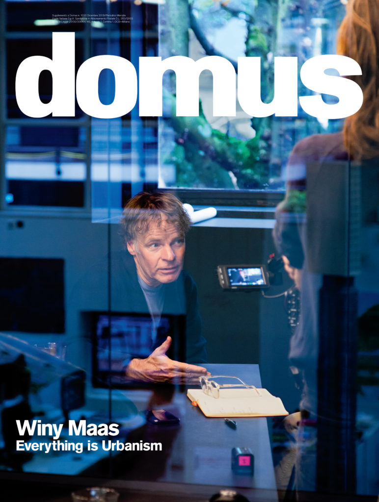 The December issue is a monograph dedicated to the work of Winy Maas