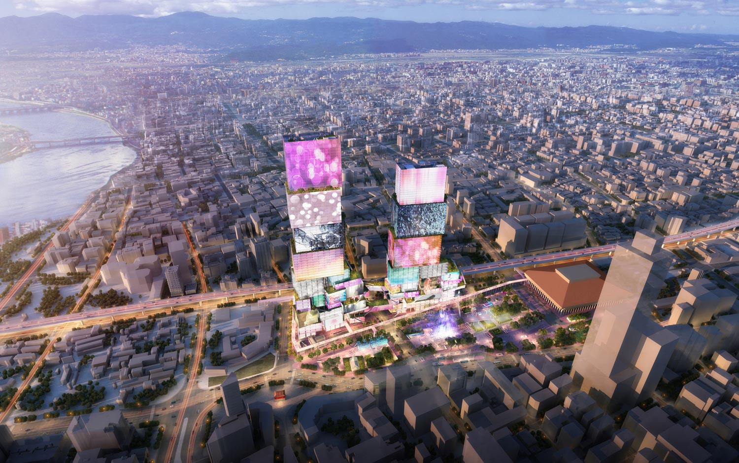 TAIWAN'S TIMES SQUARE: MVRDV'S TAIPEI TWIN TOWERS
