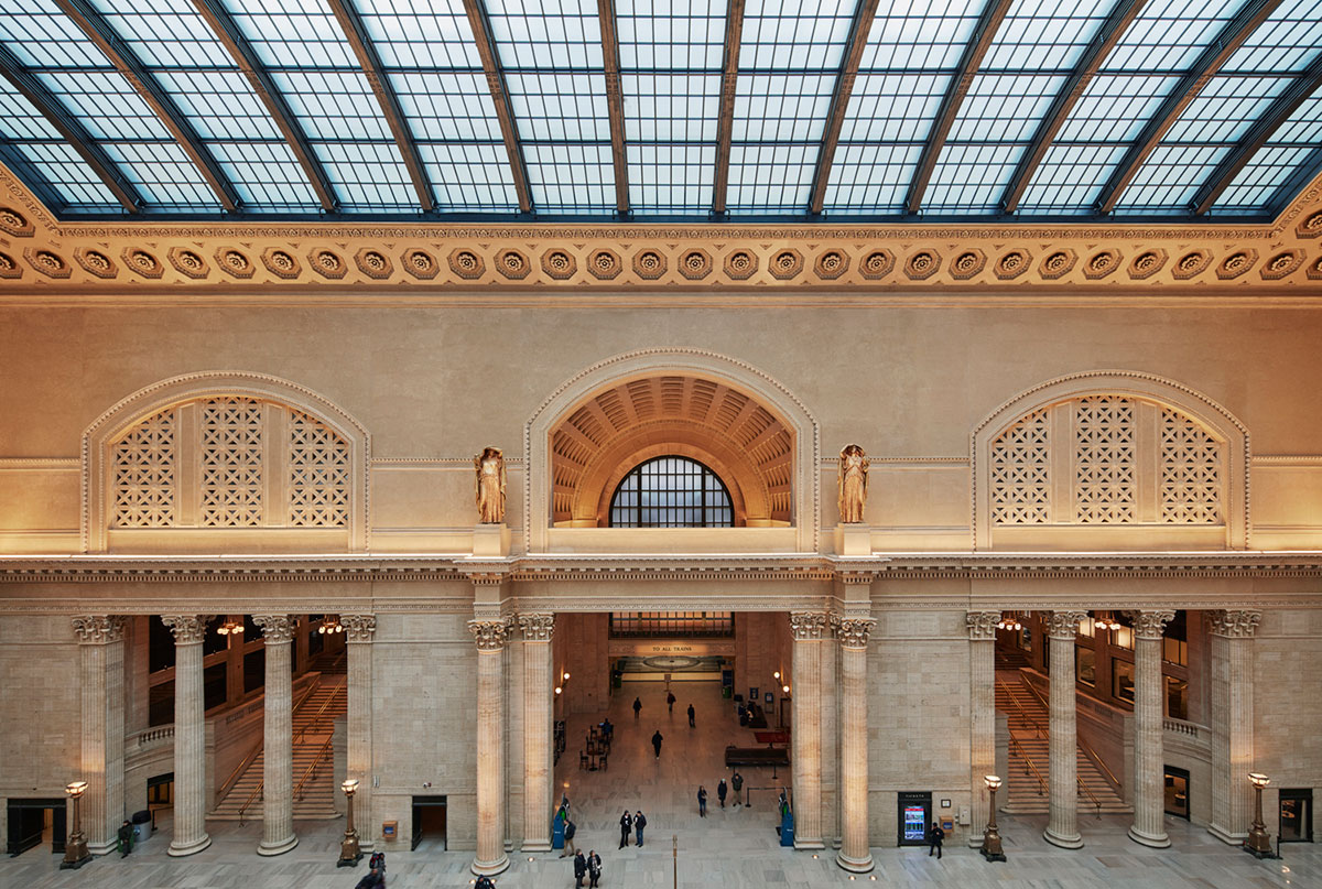 GoettSch Partners Completes restoration OF CHICAGO's HISTORIC Union Station Great Hall