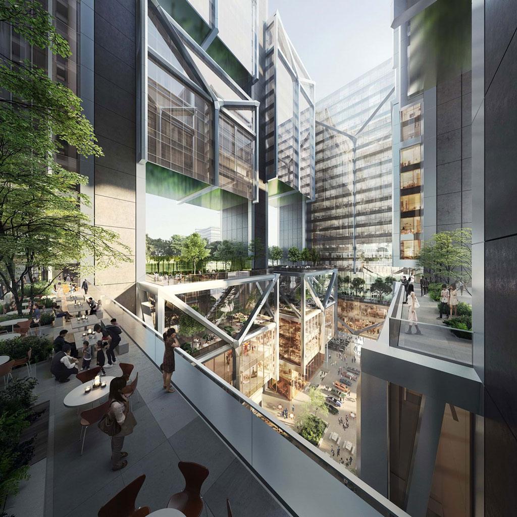 Goldsun HQ, Taipei by Foster + Partners