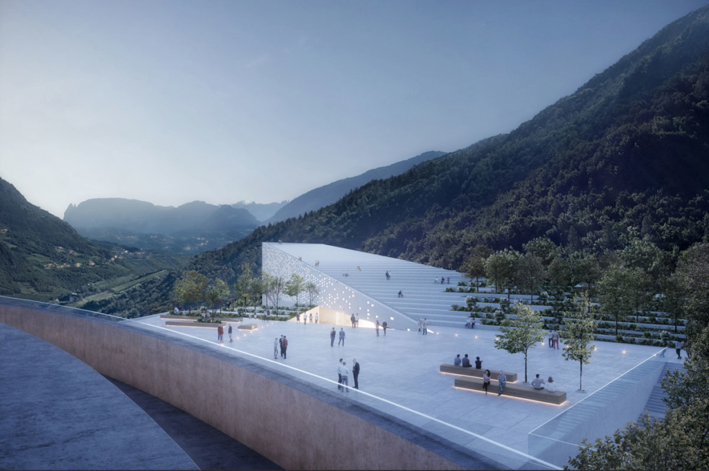 Snøhetta's new Museum Quarter in Bolzano