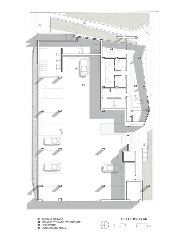 Plan - The SIX Veterans Housing by Brooks + Scarpa