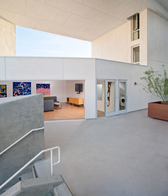The SIX Veterans Housing by Brooks + Scarpa