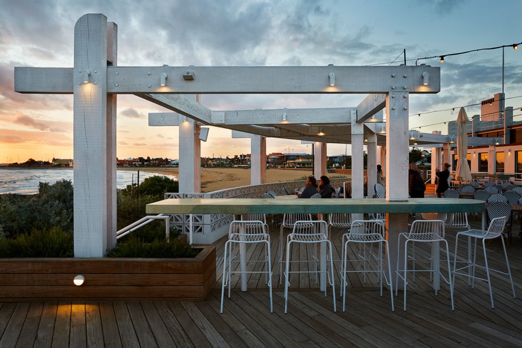 Sebastian Beach Bar & Grill by Ewert Leaf