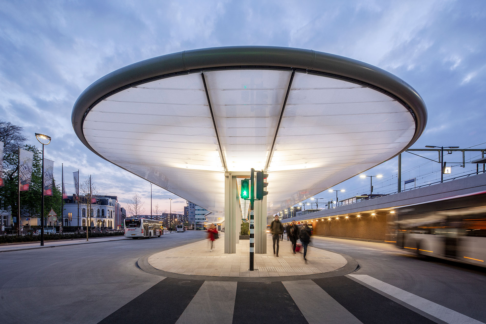 Tilburg Bus Station, The Netherlands