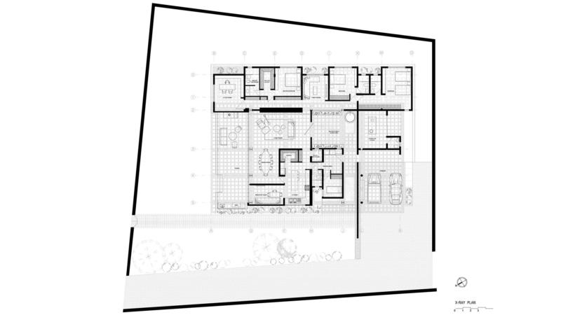 Plan / odD House 1.0 in Ecuador by odD+ Architects