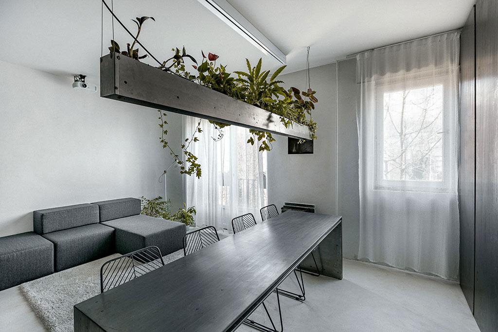 Zero-room apartment, Budapest by MÁS