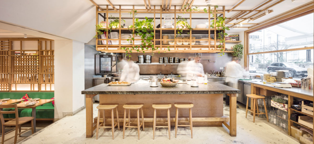 The Restaurant at Andina Notting Hill Restaurant