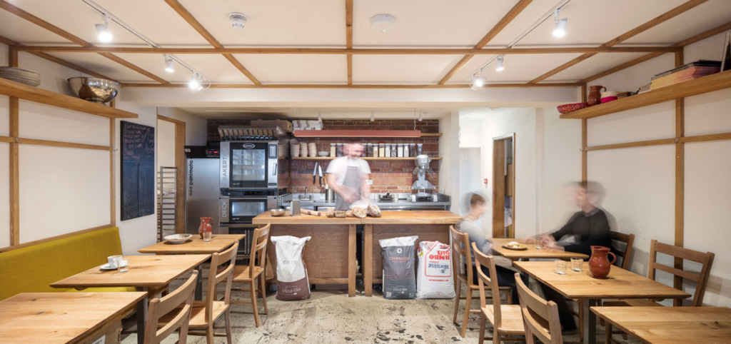 The Cafe-Bakery at Andina Notting Hill Restaurant