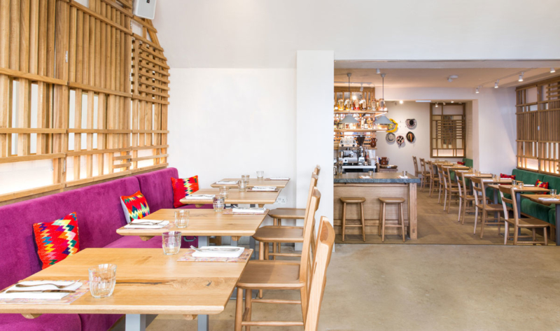 The Restaurant at Andina Notting Hill Restaurant