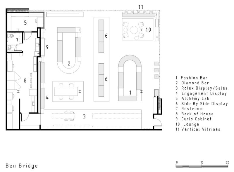 Ben Bridge Southcenter floor plan