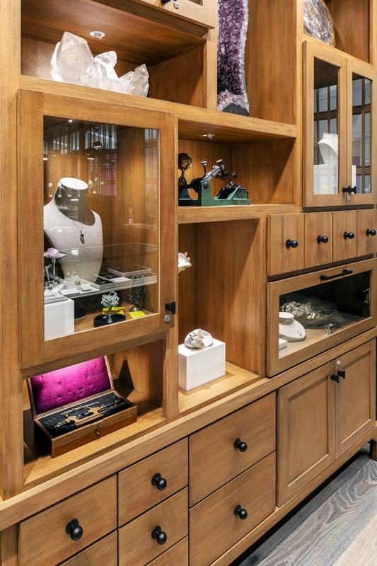 Curio cabinet celebrates century of Ben Bridge history - Ben Bridge Jewelers, Seattle