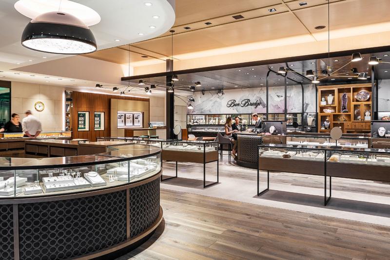 View inside store - Ben Bridge Jewelers, Seattle