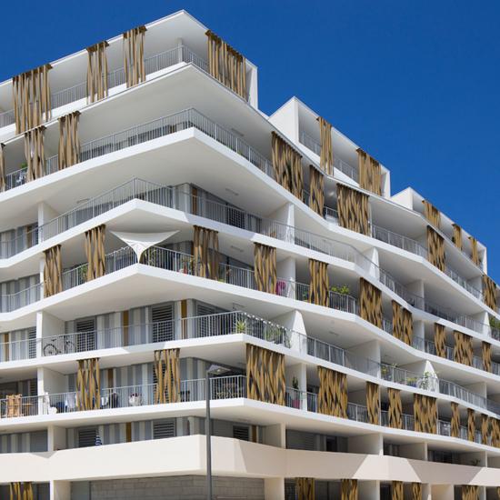 Lez in Art, a 87-Apartment Housing Complex, in Montpellier