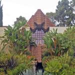 John Sowden House, street facade and garden